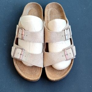 Birkenstock Arizona Taupe Sandals, 9N 40N